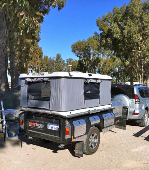Awesome Camper Trailer With Roof Top Tent Buy TrailerCamping